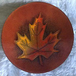 Enamel Copper Bowl / Dish Vintage 1960's